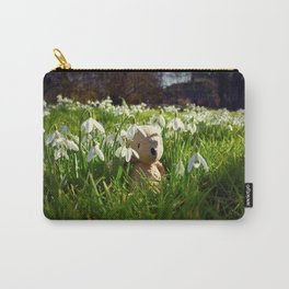 Amongst the Snowdrops Carry-All Pouch