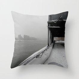 Cold Desolation. Throw Pillow
