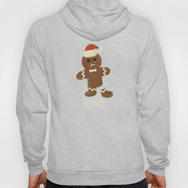 Oh Snap! Gingerbread Man Funny Christmas Gift Hoody