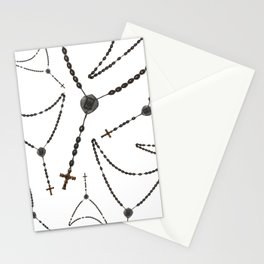 Wooden Rosary I Stationery Cards