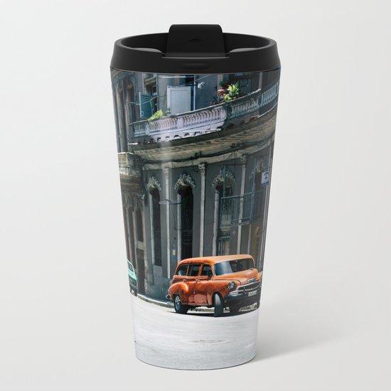 Casa Cubana Metal Travel Mug