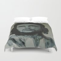 che Duvet Covers featuring Che Guevara by Ivo Becker
