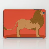lannister iPad Cases featuring Hear Me Roar by Alexandra Sutherland
