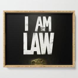 I Am the Law - Judge Dredd Serving Tray