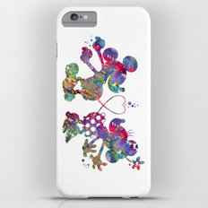 Mickey Loves Minnie iPhone 6s Plus Slim Case