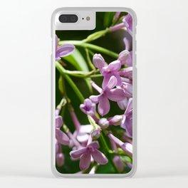 Syringa vulgaris Clear iPhone Case