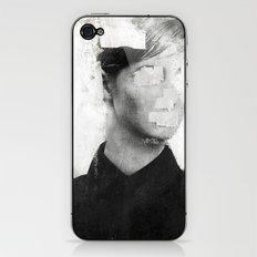 Faceless | number 01 iPhone & iPod Skin