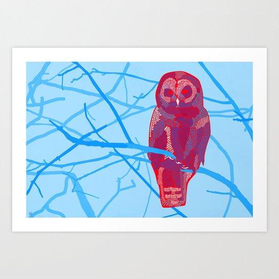 Strix Art Print