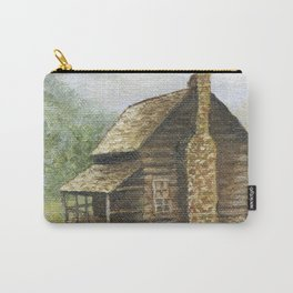 Log Cabin in Smokies Carry-All Pouch