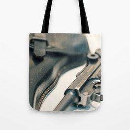 Luger P08 Parabellum handgun. Tote Bag