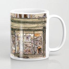 Print Gallery, Kings Parade, Cambridge, UK. Coffee Mug