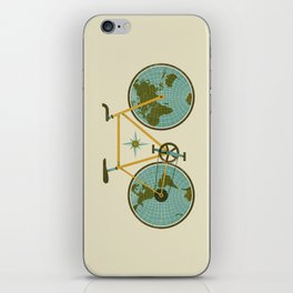 Ride For The World iPhone Skin