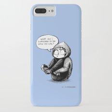 quarter life crisis Slim Case iPhone 7 Plus