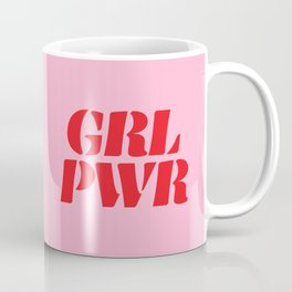 Girl Power GRL PWR Coffee Mug