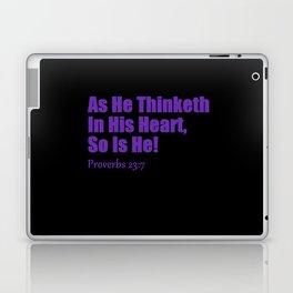 Proverbs Laptop & iPad Skin