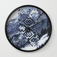 geo Wall Clocks featuring GEO by MIRA design