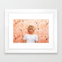 Royal Palms Shuffleboard Club Framed Art Print