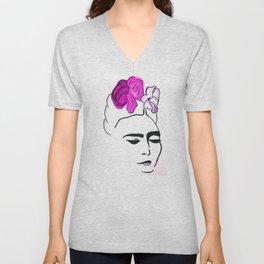 La Gran Frida Unisex V-Neck