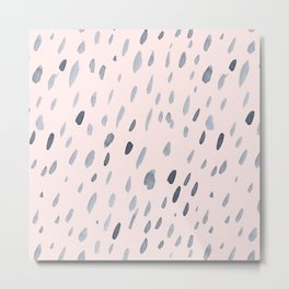 Raindrops Are Falling On My Head Metal Print
