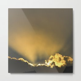 The Moment of Divine Breakthrough Metal Print
