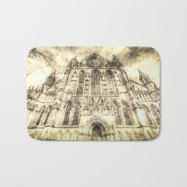 York Minster Cathedral Vintage Bath Mat