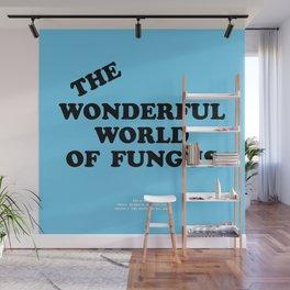 Howlin' Mad Murdock's 'The Wonderful World of Fungus' shirt Wall Mural