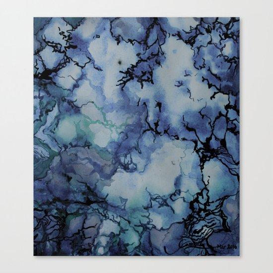Blue Marble Canvas Print