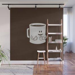 Mugged. Wall Mural