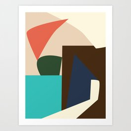 IN AND OUT no.3 Art Print