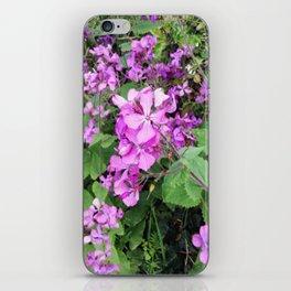 Flower Findings iPhone Skin