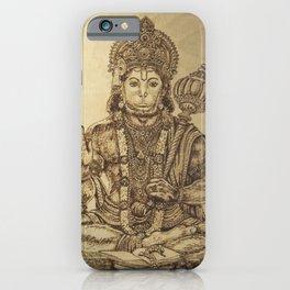 The Mighty Monkey God Hanuman iPhone Case