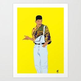 Fresh Prince - Stay Fresh Art Print