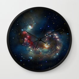 Galactic Spectacle Wall Clock