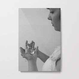Empty Heart Metal Print