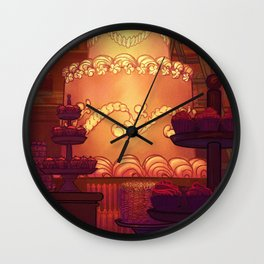 A Committed Baker Wall Clock