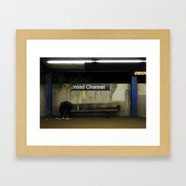 Broad Channel 2 Framed Art Print