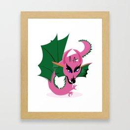 Magical Dragon Framed Art Print