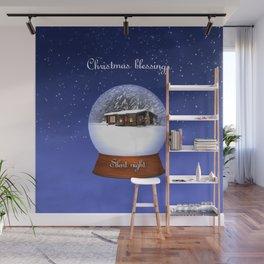 Christmas Blessings Wall Mural