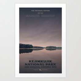 Kejimkujik National Park Art Print