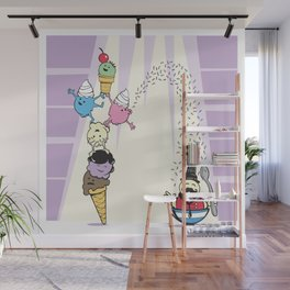 The Amazing Scoops! Wall Mural