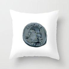 Quarter Throw Pillow