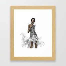 Faire Beau Framed Art Print