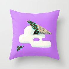 Spilled Ice Cream Throw Pillow
