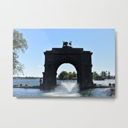 thecastlearch Metal Print
