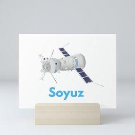 Soyuz Spacecraft Mini Art Print