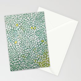 African American Masterpiece White Roses Sing! by Alma Thomas Stationery Cards
