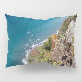 Madeira -view from cliff Pillow Sham