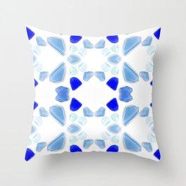 Sea Glass 4 Throw Pillow