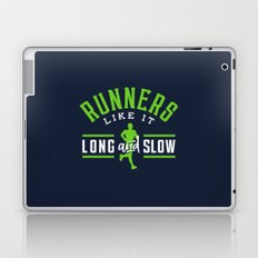 Runners Like It Long And Slow Laptop & iPad Skin