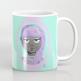 Pastel Vampire Woman Coffee Mug
